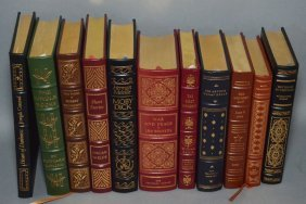 18 Franklin Mint / Easton Press Leather Books