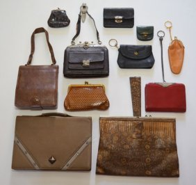 11 Vintage Leather & Exotic Leather Purses