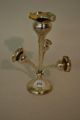 Early 20th Century Birmingham Silver Four Branch
