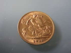1914 Half Sovereign