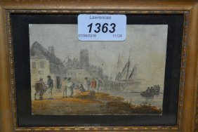 William Payne, Pair Of 18th / 19th Century Ink And Wash