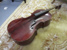 20th Century Cello, Labelled Adrian Goldsmiths (for