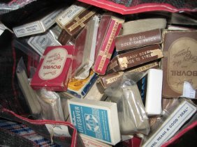 Large Quantity Of Vintage 1920's - 1950's Advertising