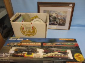 Hornby Railways Motor Boxed Set Together With A