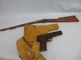 Children's Diana Air Rifle Together With A Milbro