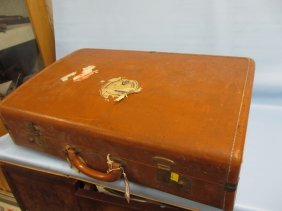 Victor Brown Suitcase