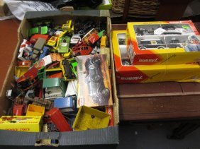 Collection Of Various Die-cast Model Vehicles Including