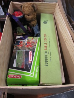 Quantity Of Various Boxed Subbuteo Games And A Quantity