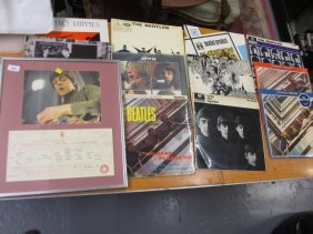 Quantity Of Various Beatles Records To Include Please,