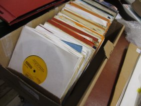 Quantity Of Various 45 Rpm Vinyl Records From The