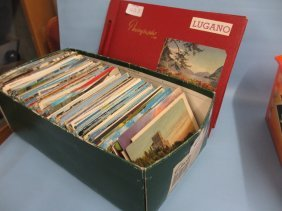 Quantity Of Various 20th Century Postcards, 1950's