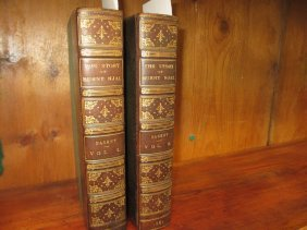 19th Century Part Leather Volumes, Dasent, George
