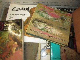 Box Containing A Quantity Of Various Art Related Books