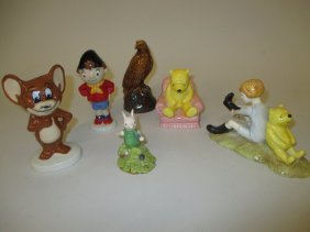 Three Royal Doulton ' Winnie The Pooh ' Figures, A Wade
