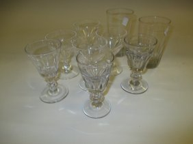 Quantity Of 19th And 20th Century Drinking Glasses