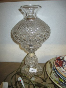 Waterford Cut Glass Table Lamp