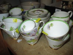 Royal Doulton Glamis Thistle Pattern Part Tea Service