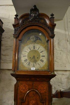 18th / 19th Century Dutch Marquetry Longcase Clock, The