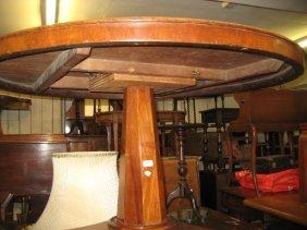 Victorian Mahogany Circular Pedestal Loo Table