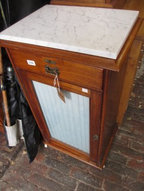 Late 19th Century Side Cabinet Having Single Drawer And
