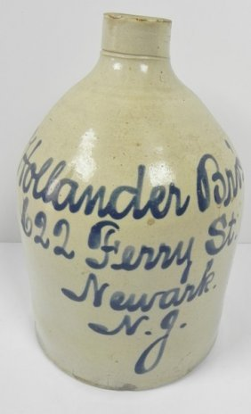 Hollaner Bros Script Jug