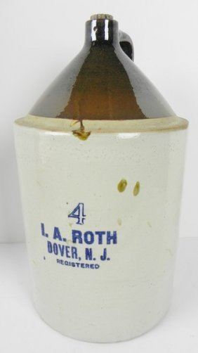 I. A. Roth Dover Nj Jug