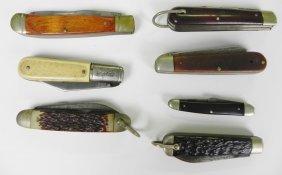 Lot Of 7 Pocket Knives