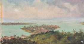 "Early 20th Century Jamaican School. ""port Antonio"