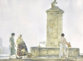 Sir William Russell Flint (1880-1969) British. �T