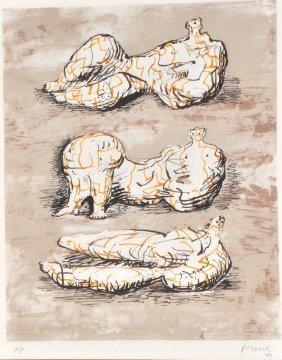 Henry Moore (1898-1986) British. �Reclining Figur