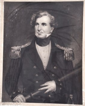 19th Century English School. Portrait Of James Clark Ro