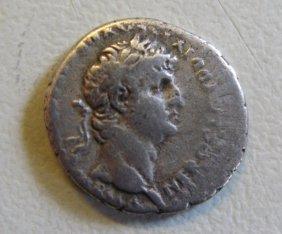 Nero (54-68), Silver Drachm (denarius) Cappadocia, Heli