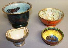 A Wedgwood Orange Lustre And Gilt Bowl, No. Z4825, 5