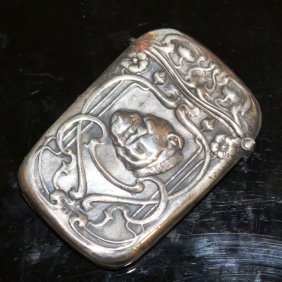 A Silver Bulldog Vesta