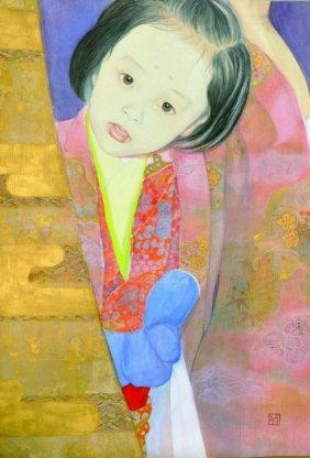20th Century Chinese School. Portrait Of A Young Girl,