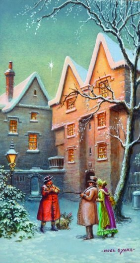 Noel Syers (20th Century) British. 'christmas Carols',