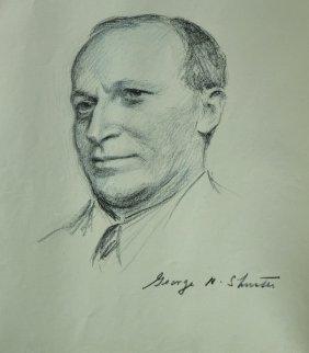 Eugene Spiro (1874-1972) Polish. A Portrait Of 'george
