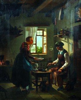 Giovanni Polli (1826-1861) Italian. 'the Cobblers