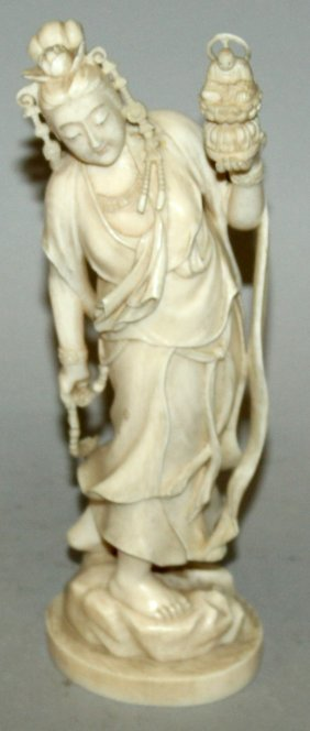 A Good Quality Signed Japanese Meiji Period Ivory