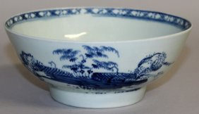 109. An 18th Century Liverpool Bowl Painted In
