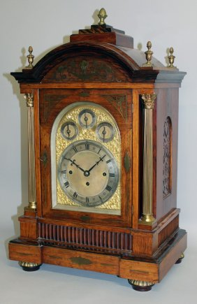 297. A Very Good Large 19th Century Rosewood Cased