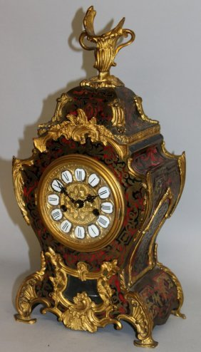 315. A 19th Century French Boulle Bracket Clock With