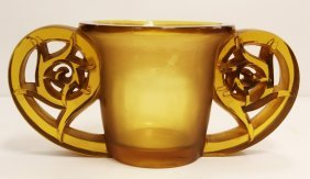 "Rene Lalique ""pierrefonds"" Vase"