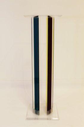 Shlomi Haziza Lucite Pedestal