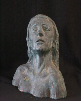 Female Bust By W. Yerke