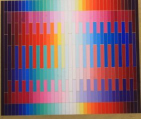 Magic Rainbow By Yaacov Agam