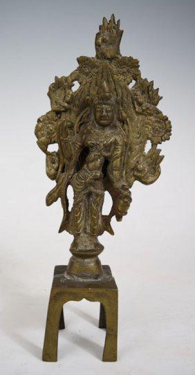 Early 19th Century Chinese Tibetan Bronze Statute