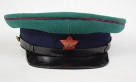 Russian Pre Wwii Cost Guard Officer Hat
