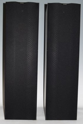 B&w 603 S2 Floor Standing Stereo Speakers Black