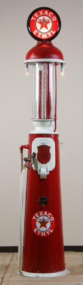 Rare Vintage Gas Pump By Clear Vision Pump